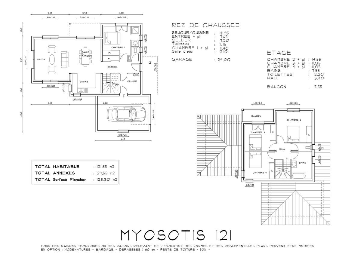 Myosotis Maison Contemporaine