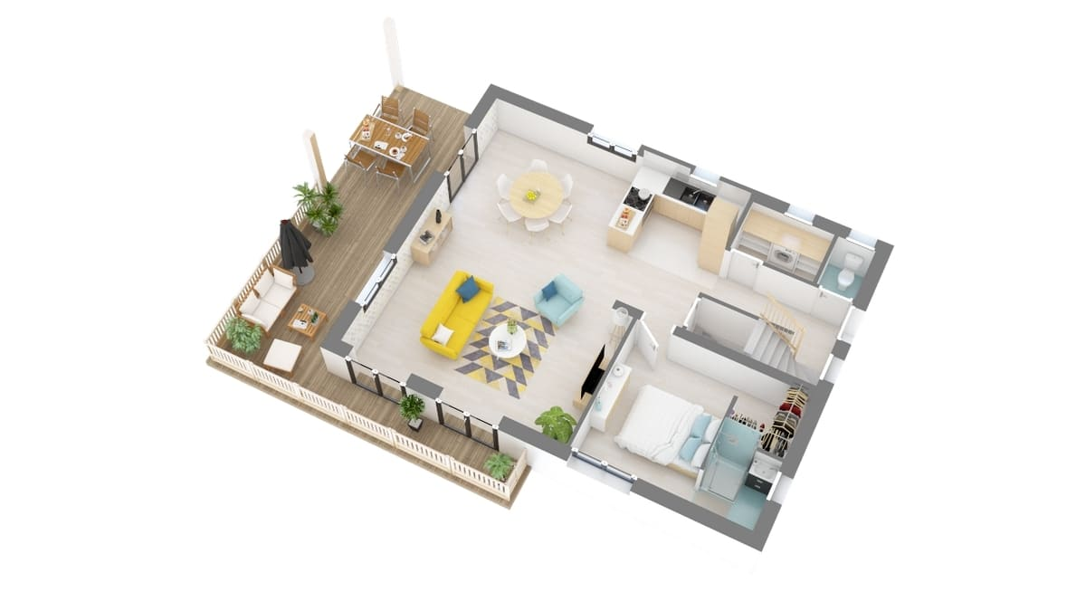 plan maison_aravis-g1-axo_rdc