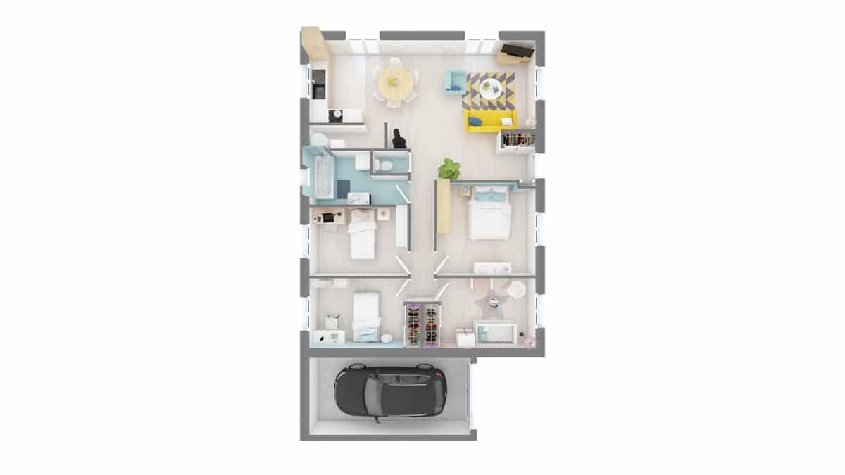 plan maison_c-line-f0-vue_de_dessus_rdc