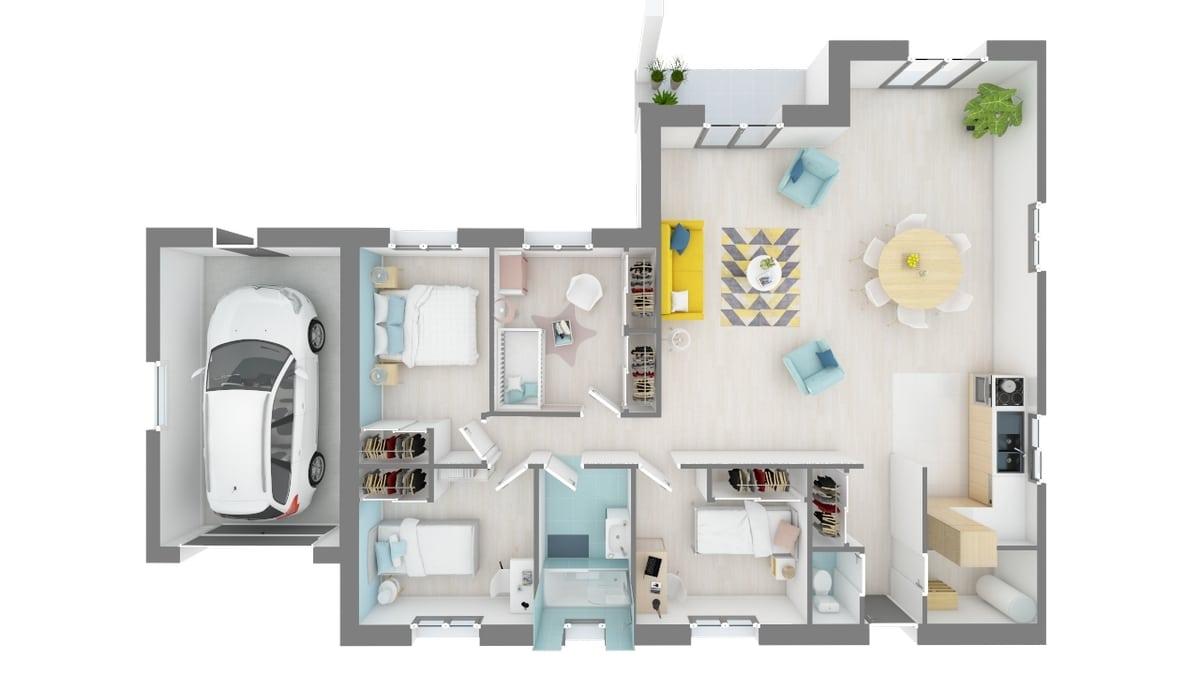 plan maison_jonquille-f0-vue_de_dessus_rdc