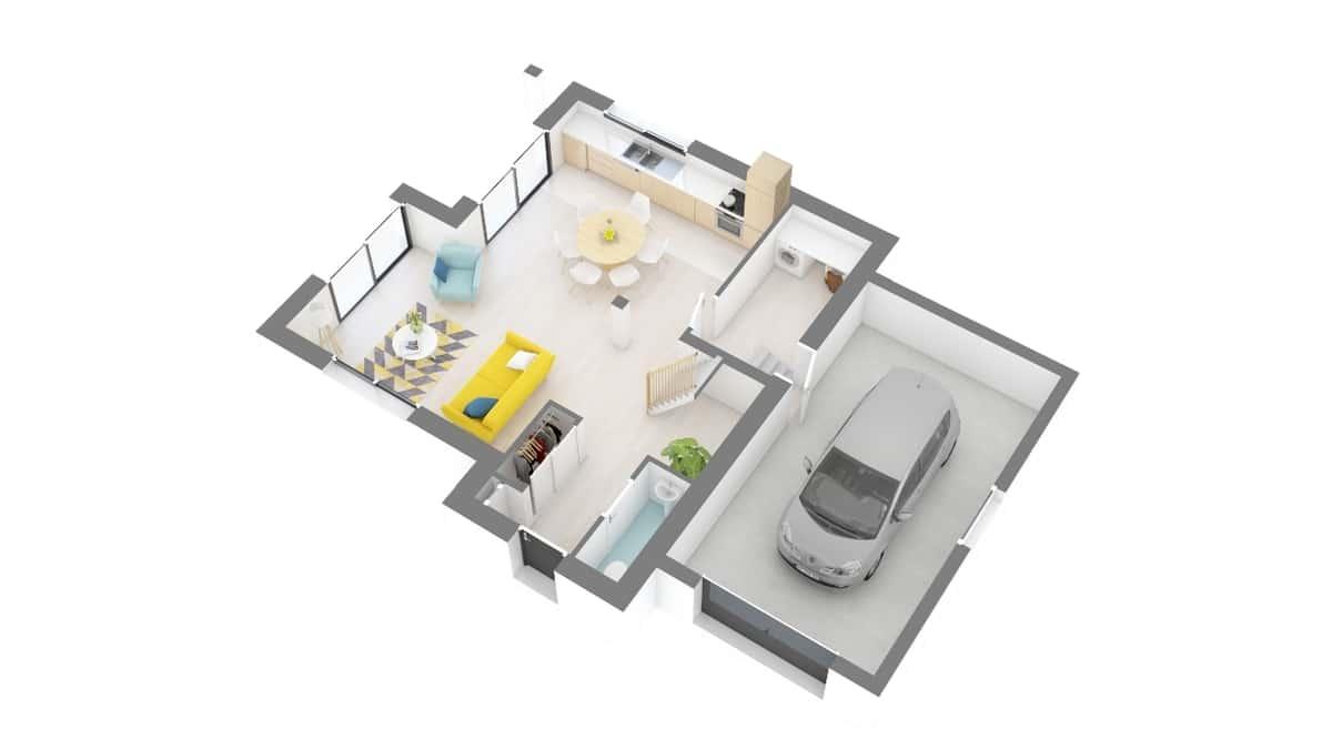 plan maison_lavande-g0-axo_rdc