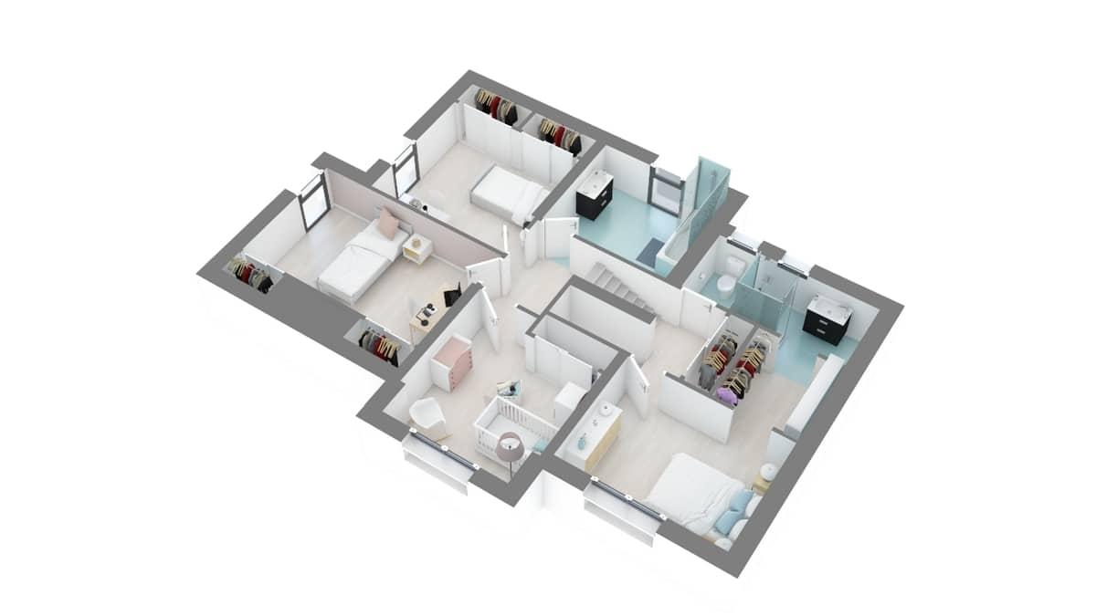 plan maison_lavande-g1-axo_etage