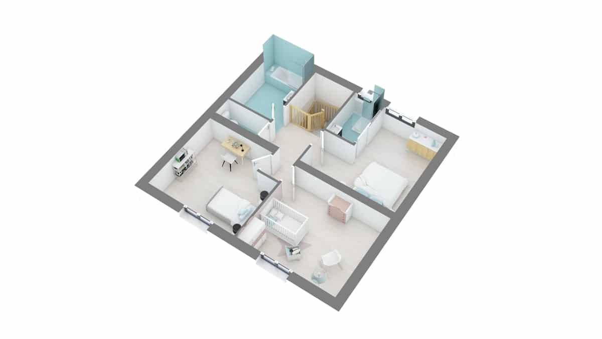 plan maison_lys-g1-axo_etage