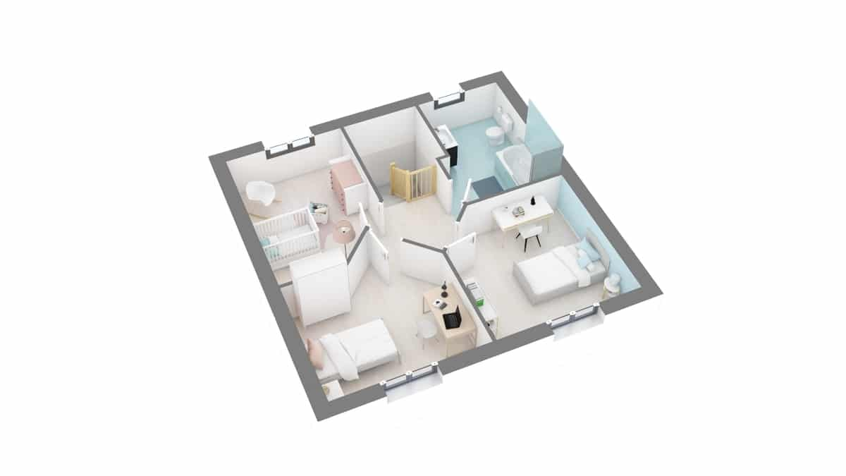 plan maison_magnolia-g1-axo_etage