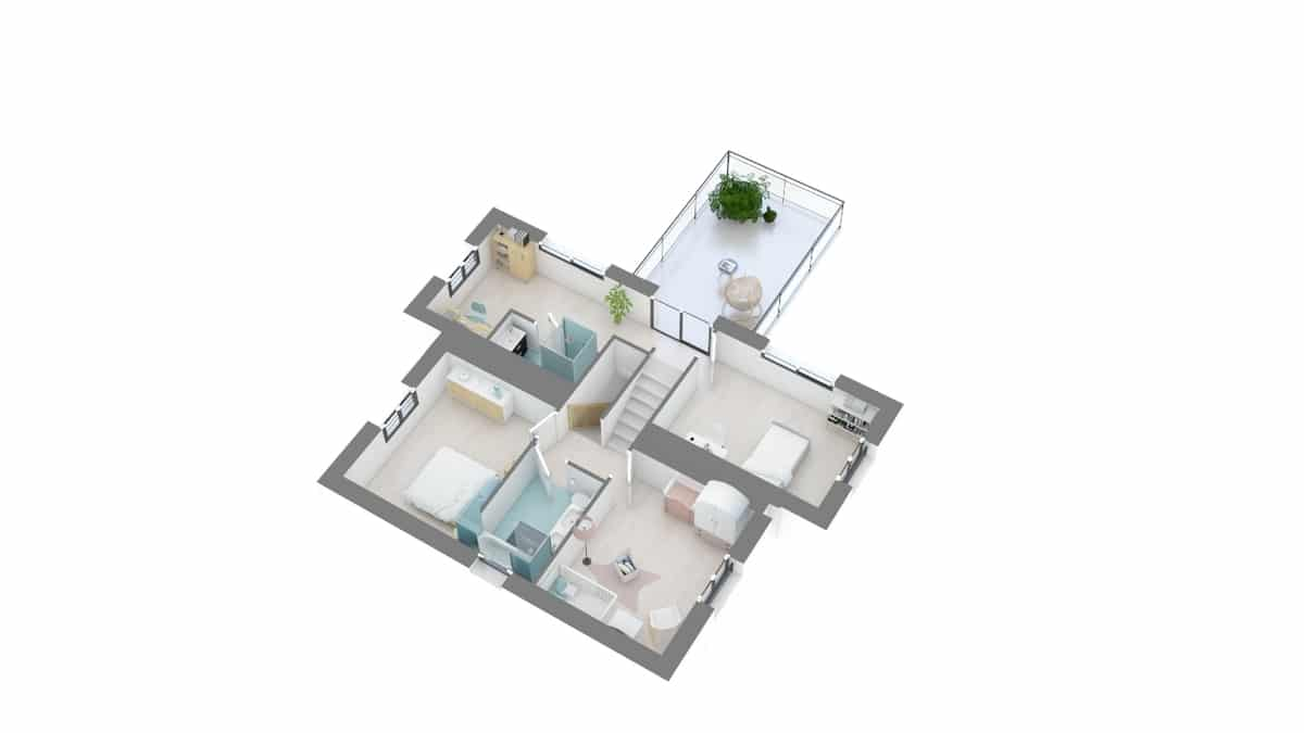 plan maison_melisse-g1-axo_etage