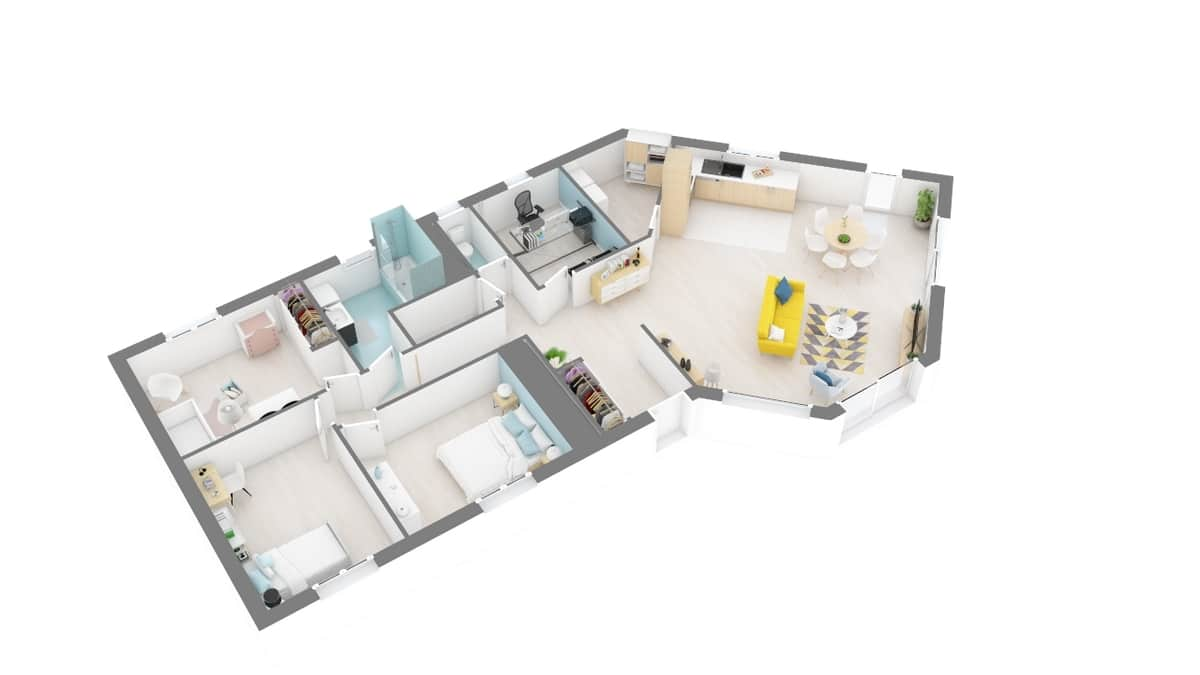 plan maison_muguet-g1-axo_rdc