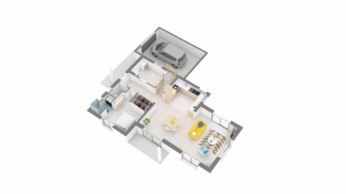 plan maison_myosotis-g0-axo_rdc