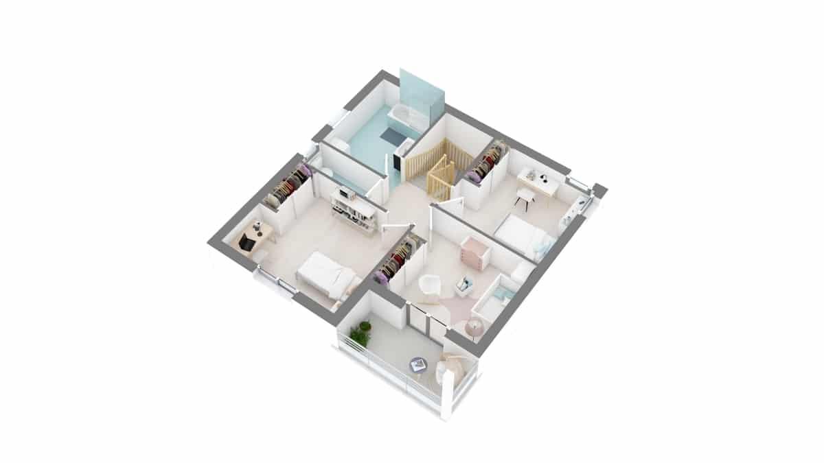 plan maison_myosotis-g1-axo_etage