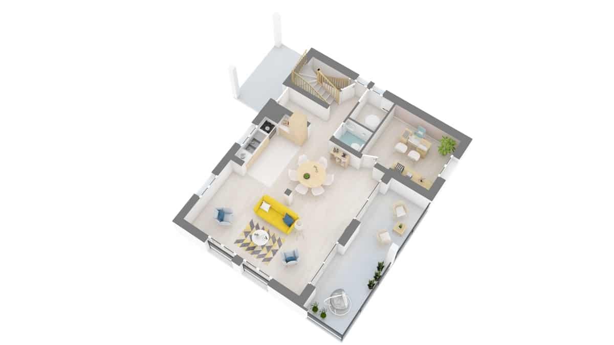 plan maison_narcisse-g1-axo_rdc