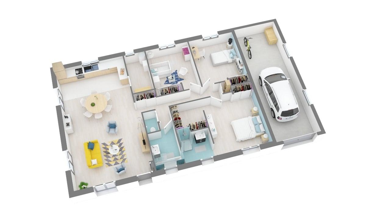 plan maison_oeillet-g0-axo_rdc
