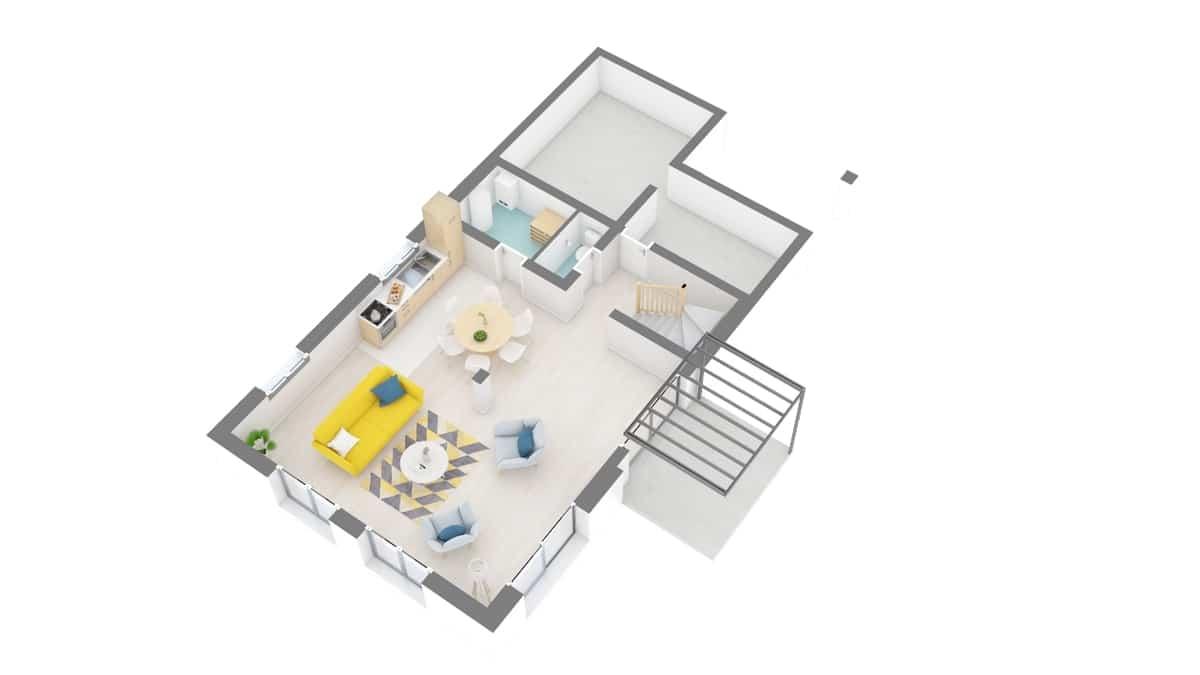 plan maison_perce_neige-g0-axo_rdc