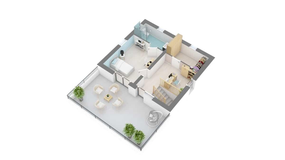 plan maison_perce_neige-g2-axo_etage2
