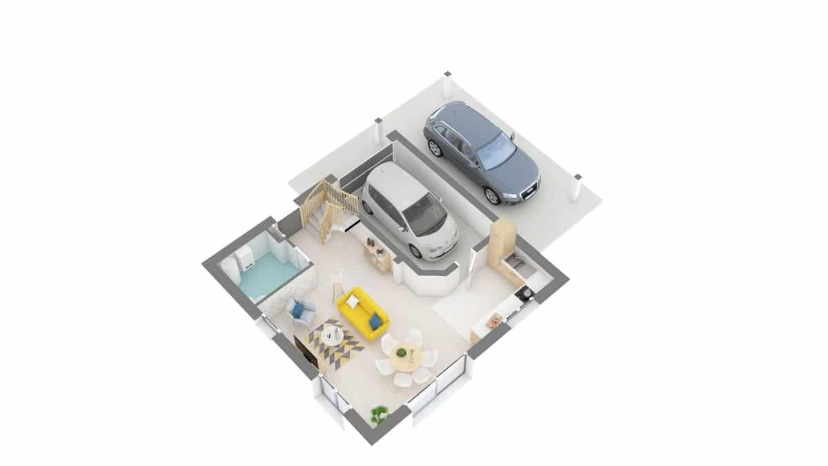 plan maison_primevere-g0-axo_rdc