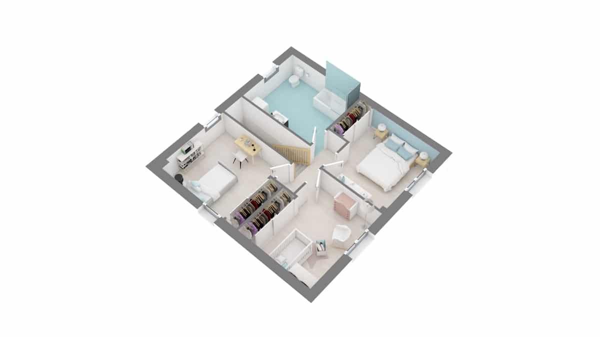plan maison_primevere-g1-axo_etage