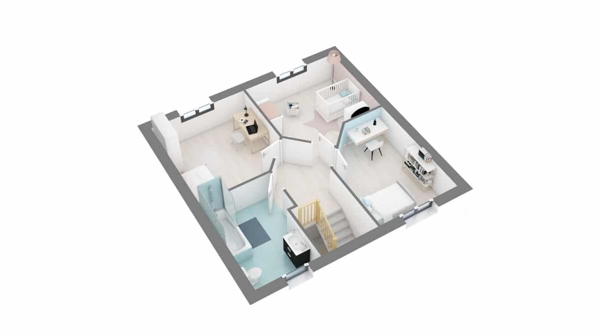 plan maison_tourmaline-g1-axo_etage