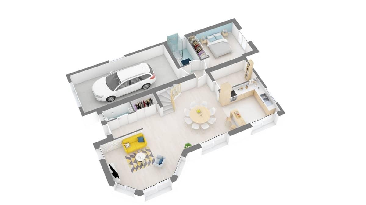 plan maison_tournesol-g0-axo_rdc