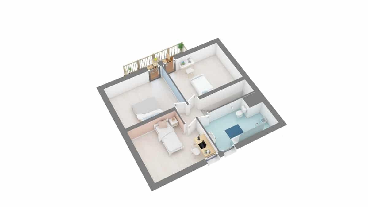 plan maison_vanoise-g2-axo_etage
