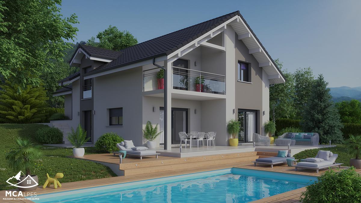 Maisons Chalets Des Alpes Constructeur De Maison